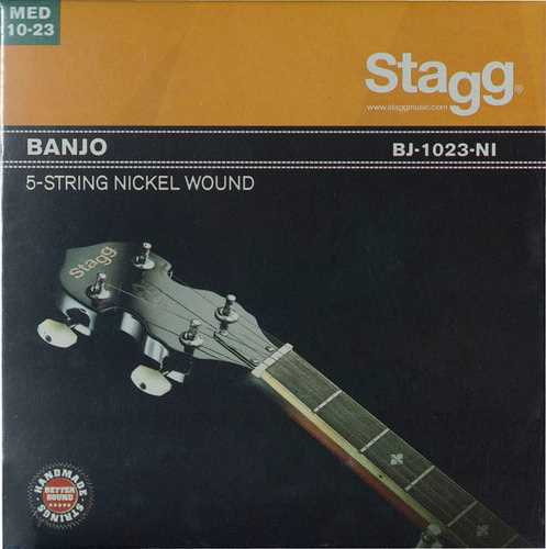 Stagg Banjosaitensatz 5-saitig .010-.023