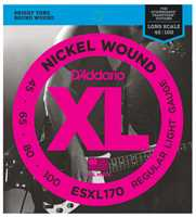 D'Addario ESXL-170 045-100 E-Basssaiten double ball end