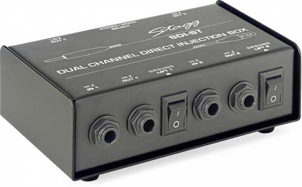 Stagg SDI-ST passive DI Box 2-Kanal