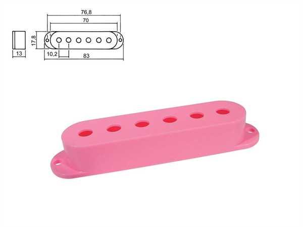Boston SPC-10 PK Pickupkappen für Strat 3er Satz, pink