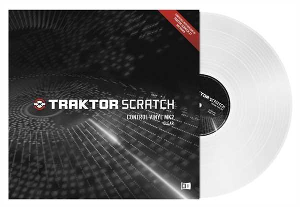 Native Instruments Traktor Control Vinyl MKII transparent