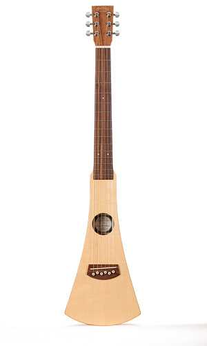 Martin Backpacker GBP Traveller Gitarre mit Tasche und Gurt