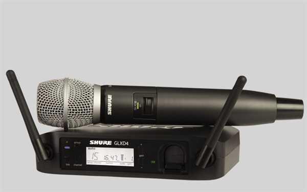 Shure GLXD 24E/SM86 Digital-Funkstrecke