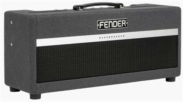 Fender BassBreaker 45 Head Grey Tweed