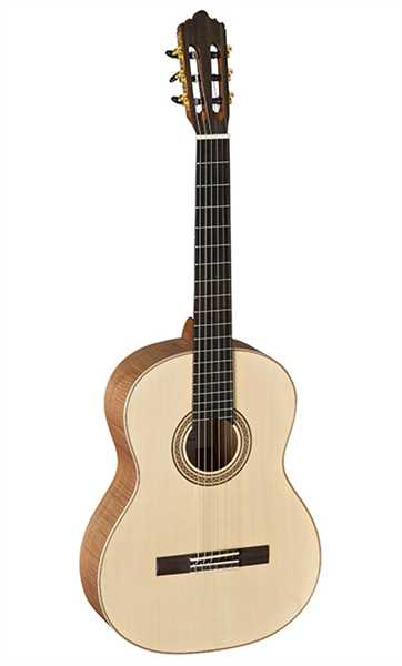 La Mancha Rubi SMX Konzertgitarre 4/4 Fichte massiv Exotic Wood