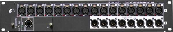 Soundcraft Si Mini Stagebox 16 inkl. MADI-Card