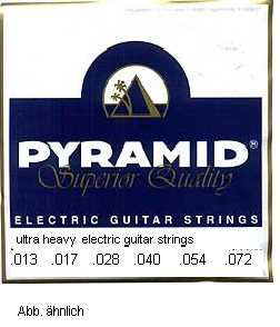 Pyramid 013 - 072 E-Gitarren Saiten Nickel Ultra Heavy Custom WE ARE CECILE