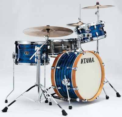 Tama Silverstar Vintage Shell Kit 3 tlg. in Blue Onyx