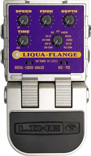 Line 6 Liqua-Flange Effektpedal