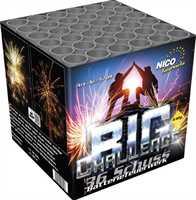 Nico Big Challenge Feuerwerksbatterie 36 Schuß ca. 55 Sek. 40m Kaliber 25