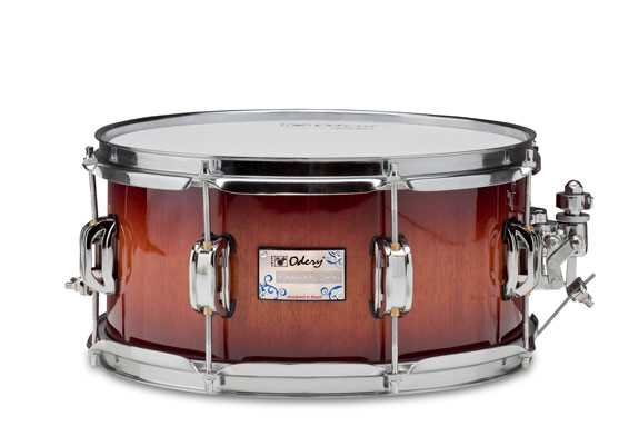 "Odery Snaredrum Eyedentity 13 x 6,5"" Nyatoh Red River Finish"