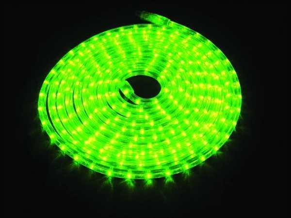 Rubberlight / LED Lichtschlauch 9m GRÜN