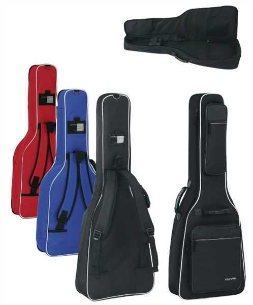 Gewa Premium Gigbag für Konzertgitarre 4/4 Größe, rot
