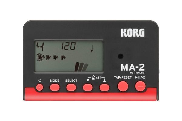 Korg MA-2 Digital Metronom schwarz/blau