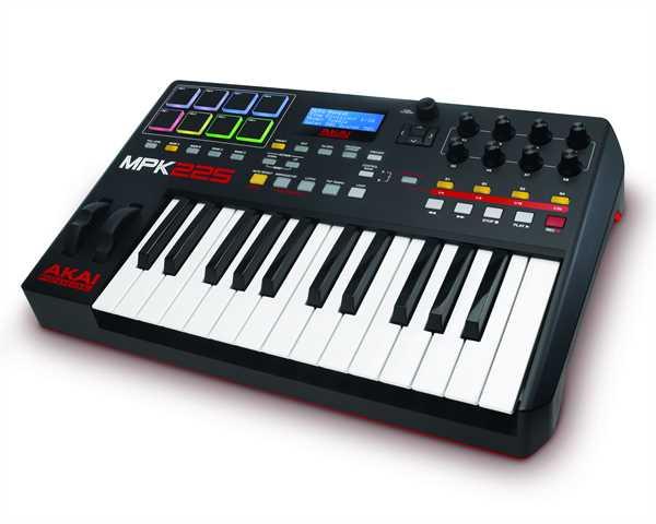 Akai MPK 225 Midi-Controller/Keyboard