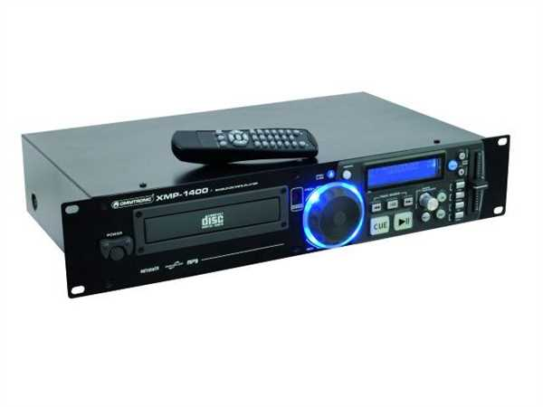 Omnitronic XMP-1400 Single-CD/MP3 Player