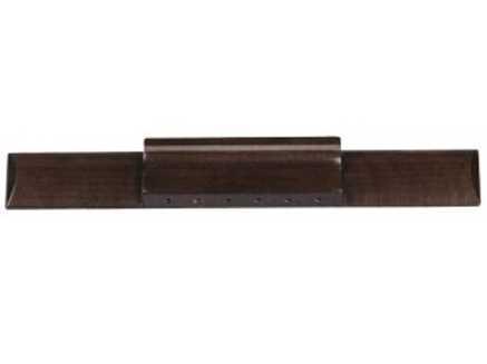 Gewa 547553 Steg für Konzertgitarre, Akazie, 190x30mm