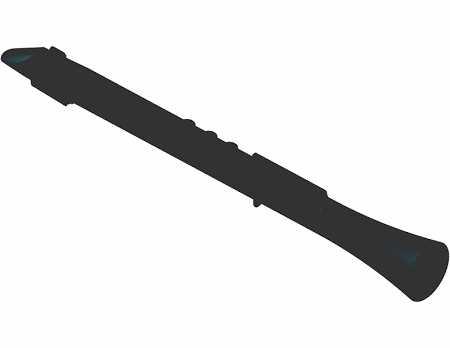 Nuvo DOOD schwarz - schwarz Stimmung C leicht Polymer