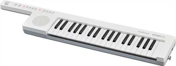 Yamaha SHS300 WH Sonogenic Keytar Umhänge-Keyboard weiß