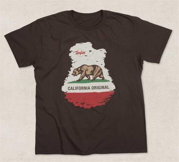 Taylor California Original T-shirt, brown, Size L