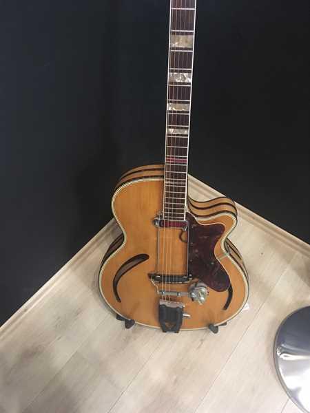 Hopf Superdeluxe Archtop Gitarre USED! Kundenauftrag!