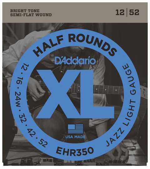 D'addario EHR-350 012-052 Half Rounds