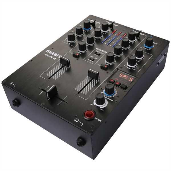 Mixars MXR 2 DJ-Mixer 2-Kanal m. Soundkarte