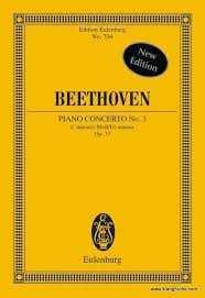 Ludwig van Beethoven Konzert c-Moll Nr.3 op.37 : für Klavier und Orchester Studienpartitur
