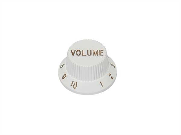 Boston KW-1726 V, Volume Potiknopf, Strat-Style, weiß