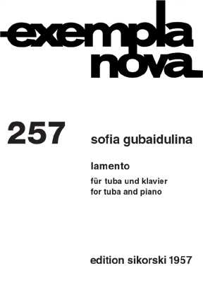 Sofia Gubaidulina Lamento : für Tuba und Klavier