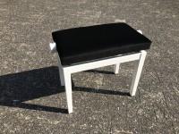 Quenz Klavierbank Mod. FB-143 weiß matt