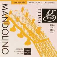 Galli M-158 Mandoline-Saiten Satz Silver Plated