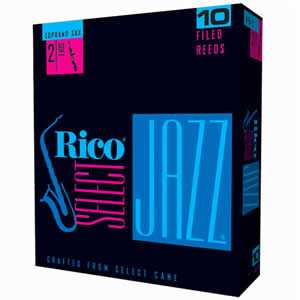 Rico Select Jazz 3H (unfiled) Sopransax