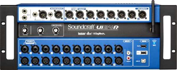 Soundcraft UI 24 RDigitalmixer