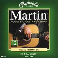 Martin M-180 12 String Saitenset 010-047