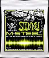 """Ernie Ball 2921 """"M-Steel Slinky"""" E-Gitarren Saiten 010-046"""
