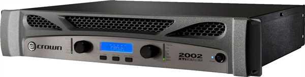 Crown XTI 2002 Endstufe 2x800W an 4 Ohm