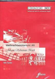 CD Coach me Weihnachtsoratorium Bach Alt Solo
