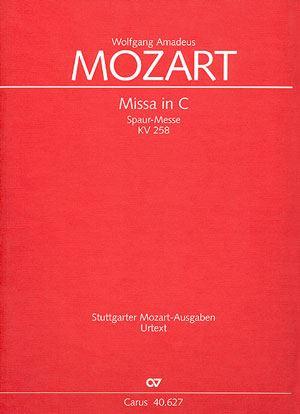 Antiquariat Mozart Missa in C