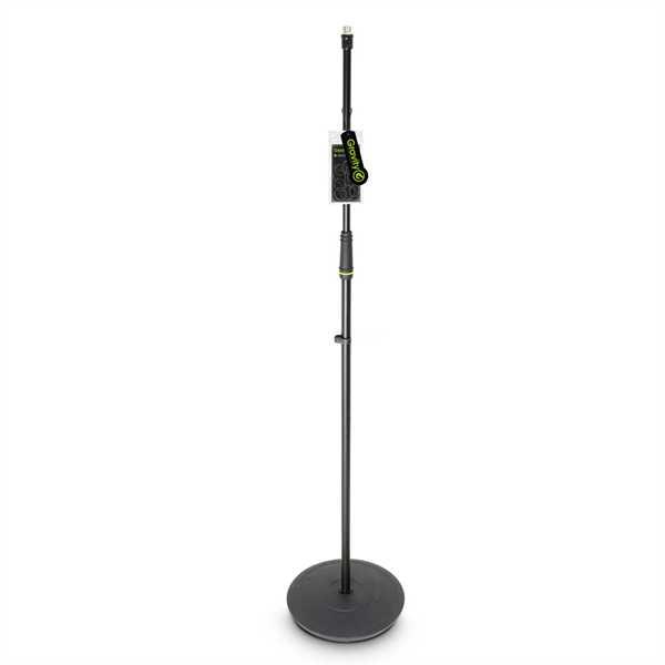 Gravity Mikrofonstativ mit Tellerfuß