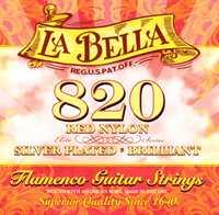 La Bella 820 red nylon, Flamenco