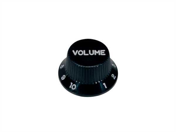 Boston KB-240-V, Volumen-Potiknopf, Strat-Style, schwarz