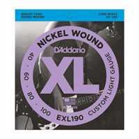 D'Addario EXL-190 Saitenset 040-100 E-Bass