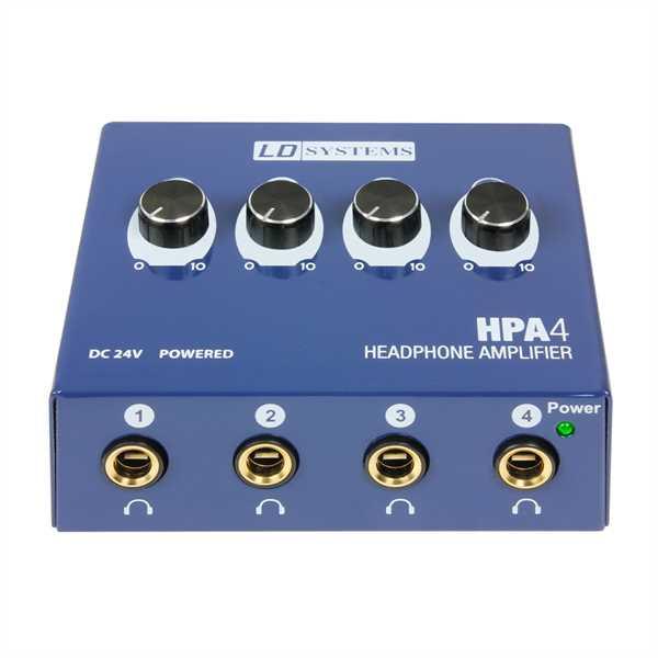 LD Systems - HPA 4 Kopfhörerverstärker