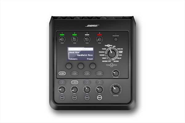 Bose T4S Tonematch Mischpult