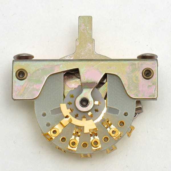 Göldo USG03, 3-Weg Schalter, Gold-Slider