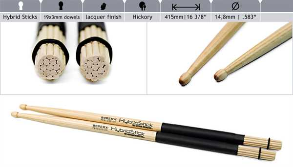 Rohema Hybrid Sticks
