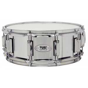 """Drumcraft Gewapure Snare Drum 14x5,5"""" Classic Stahl verchromt"""