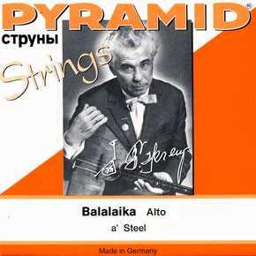 Pyramid Balalaika Prim -3saitig Saitensatz