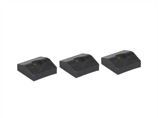 Fender Outlet Klemmplatten für Floyd Rose schwarz